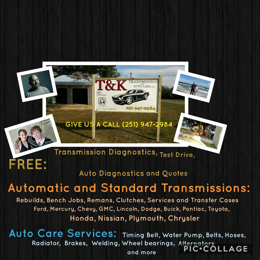 Tk Transmission And Auto Care Get Quote Repair Gmc Timing Belt 23747 County Road 64 Robertsdale Al Phone Number Yelp