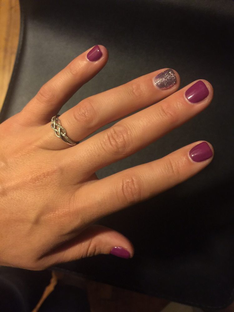 Shellac Manicure From Red Design Nails Yelp