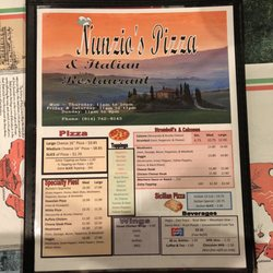 Photo Of Nunzio S Pizza Italian Restaurant Tyrone Pa United States