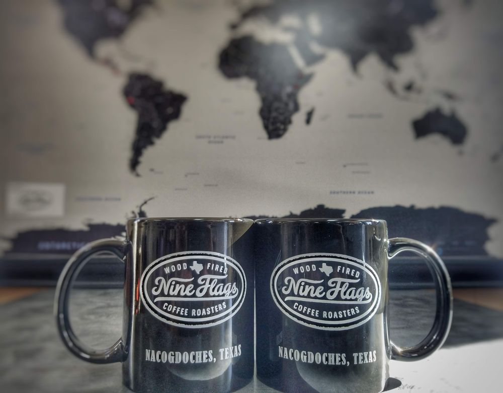 Nine Flags Coffee Roasters: 1504 N St, Nacogdoches, TX