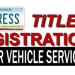 Express Title & Registration Motor Vehicle Services - Registration ...