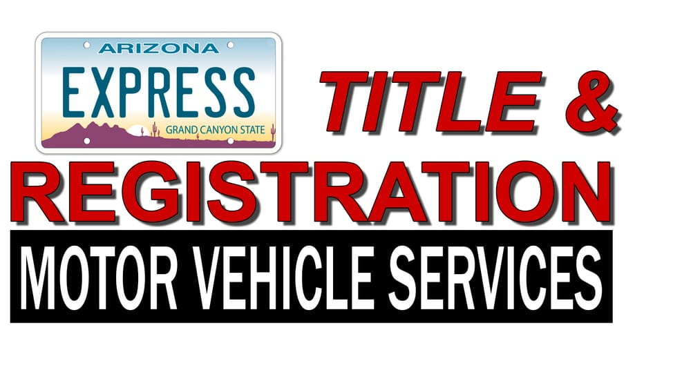 Express Title Registration Motor Vehicle Services