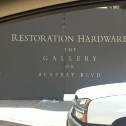 Restoration hardware closed hardware stores 131 n la for Restoration hardware online shopping