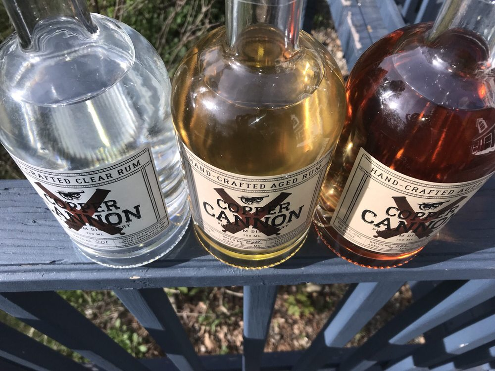 Copper Cannon Distillery: 2 Lyman Way, West Chesterfield, NH