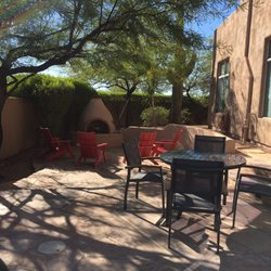 Photo Of Todayu0027s Patio   Scottsdale, AZ, United States. Red Adirondack  Chairs And