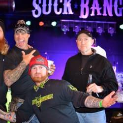 and bar blow biker bang Suck
