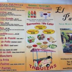 Photo Of El Patio   Montebello, CA, United States. Menu ...