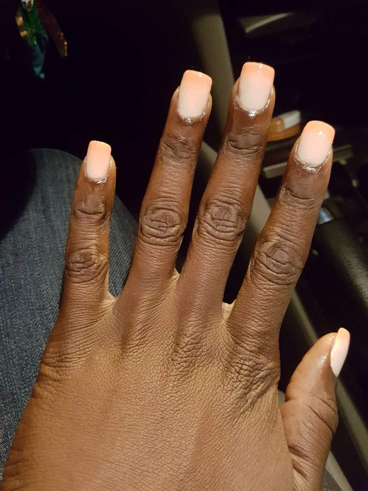 Beautiful. First time with a square look. It changes color! - Yelp