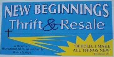 New Beginnings Thrift & Resale: 650 W Conway Rd, Harbor Springs, MI