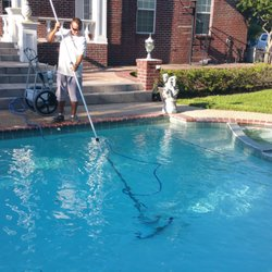Photo of Katy Swimming Pool Service - Katy, TX, United States. Lead  Technician