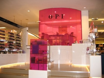 Opi nail bar nail salons 400 oxford street marylebone - Nail salons in london ...