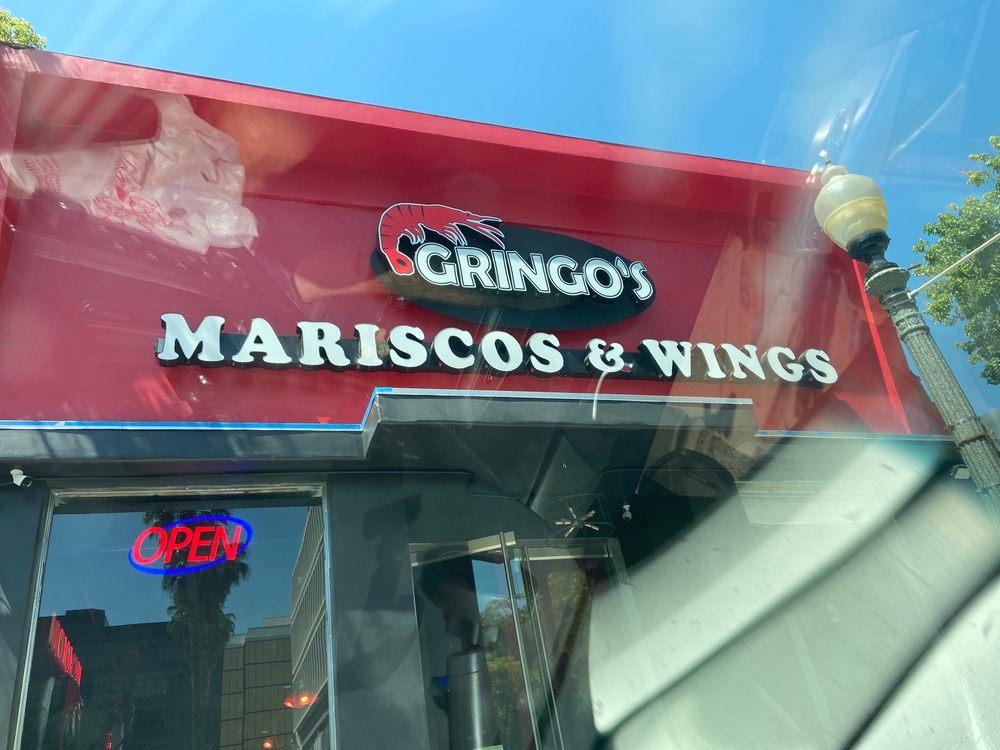 Gringo's Mariscos And Wings: 424 W Court St, San Bernardino, CA