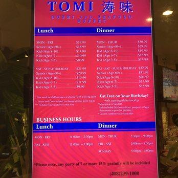 Fabulous Tomi Sushi Seafood Buffet 2046 Fotos Y 1697 Resenas Download Free Architecture Designs Osuribritishbridgeorg