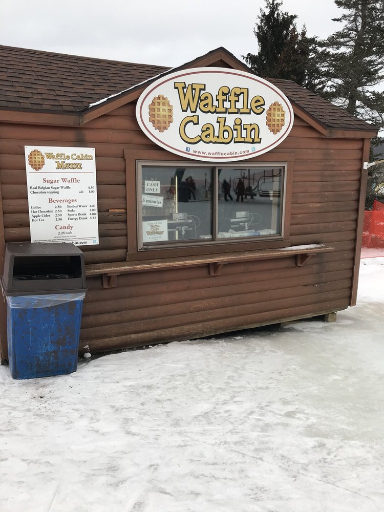 Waffle Cabin: 6554 Holiday Valley Rd, Ellicottville, NY