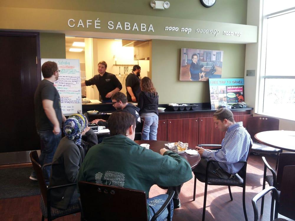 Cafe Sababa: 503 E John St, Champaign, IL