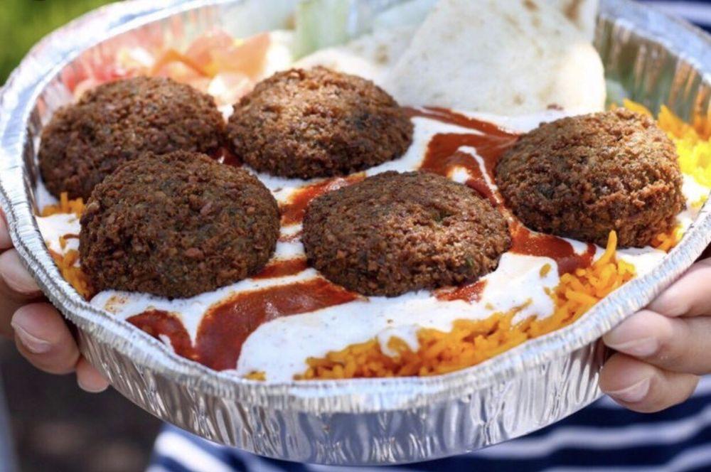 Indian Tasty Halal Food: E 44 St & 6 AV, New York, NY