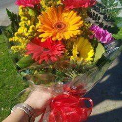 Photo of Janet's Flowers - Modesto, CA, United States. Beautiful improv bouquet!