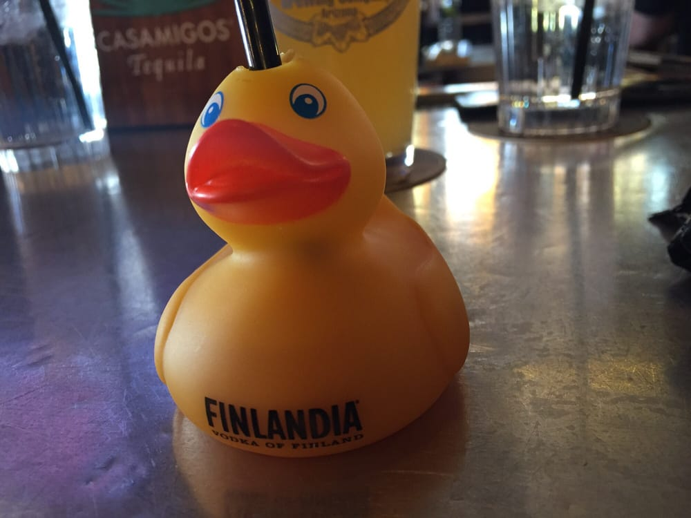 The rubber ducky shots are awesome!! Free with check in Cheers! - Yelp