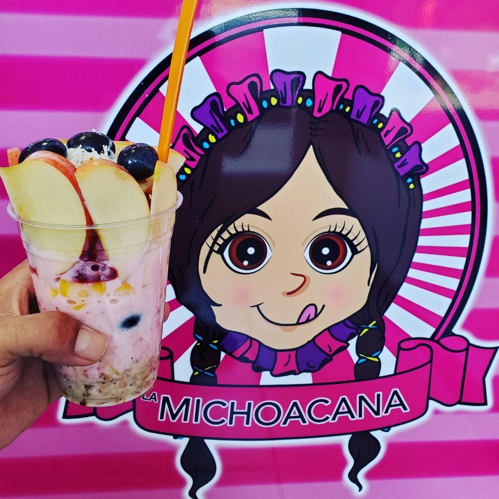 La Michoacana Delicious Ice Cream: 4594 University Pkwy, San Bernardino, CA