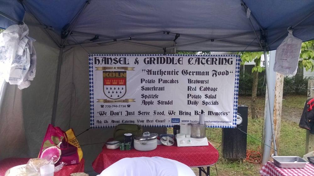 Hansel and Griddle Catering: Alpharetta Farmer's Market, Milton, GA