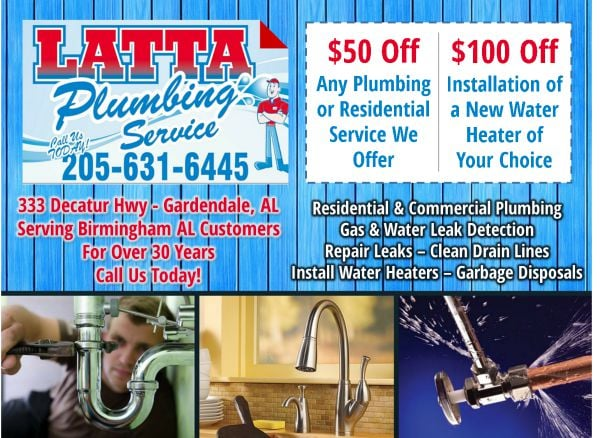 Photo Of Latta Plumbing Service Gardendale Al United States Mention This Ad