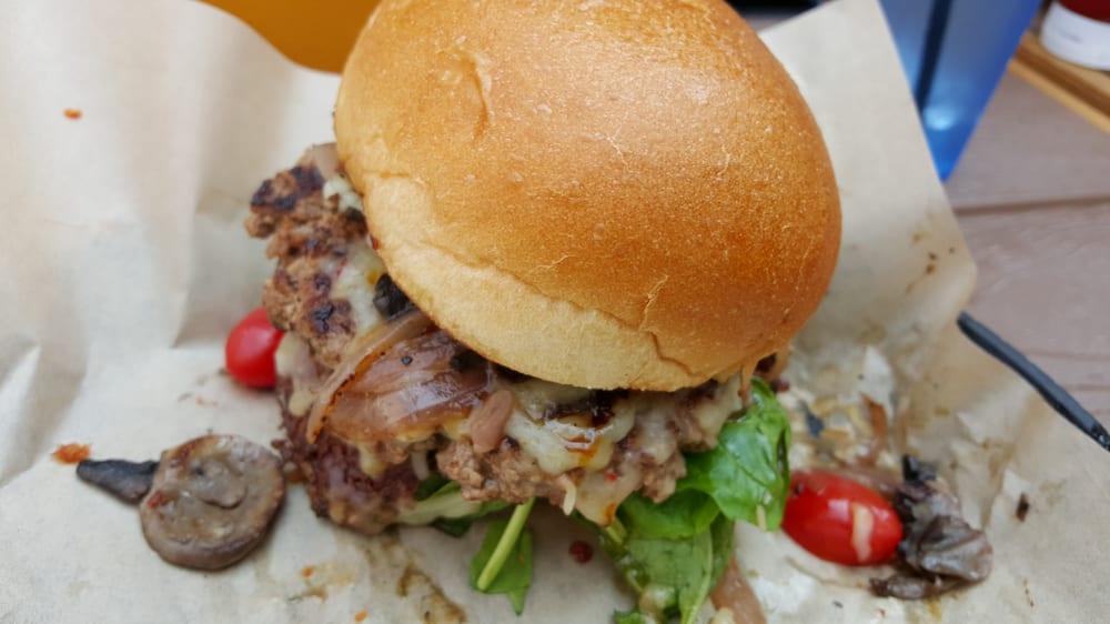 Mushroom Burger Yelp