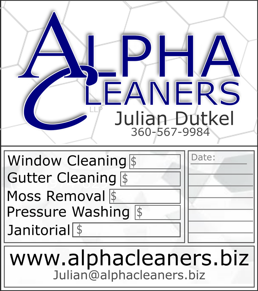 Alpha Cleaners: 1714 NW 103rd St, Vancouver, WA