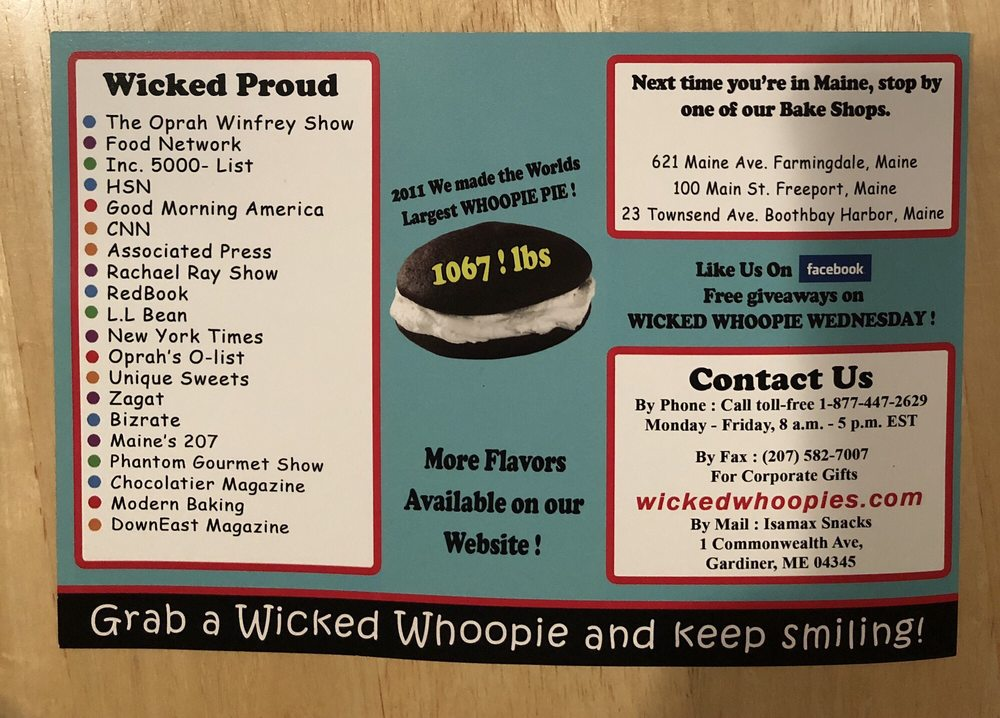 Wicked Whoopie Mint Chocolate pie - Yelp