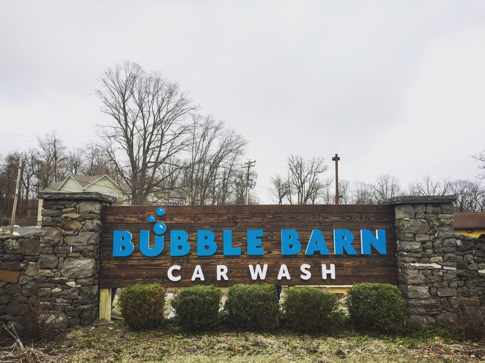 Bubble Barn Car Wash: 119 Old South Plank Rd, Newburgh, NY