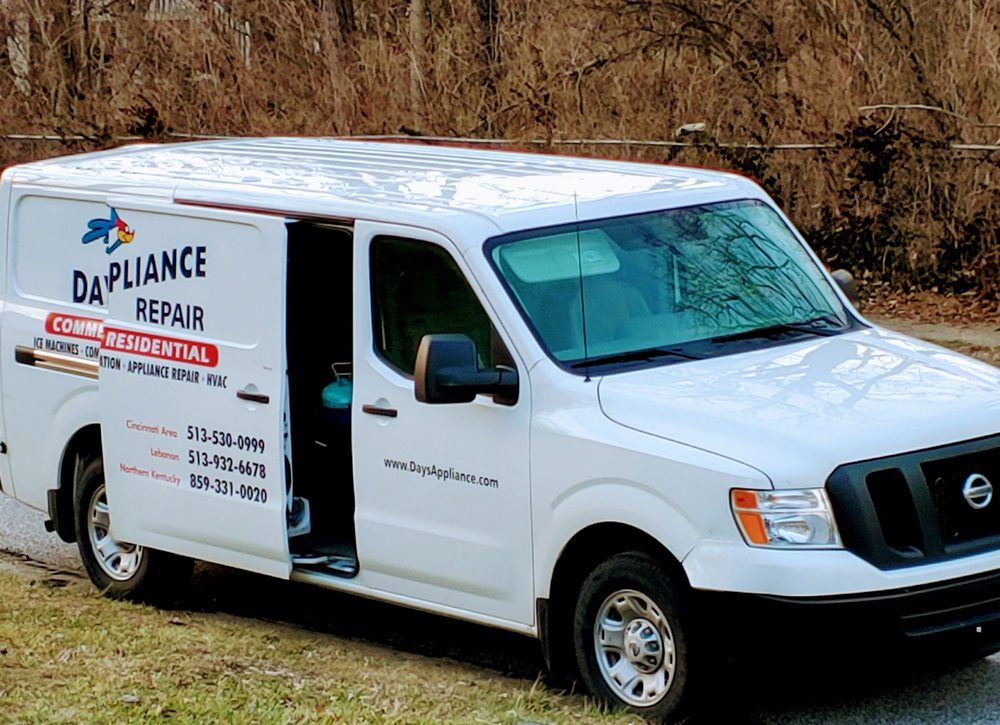 Day's Appliance Repair: 8435 Beechmont Ave, Cincinnati, OH