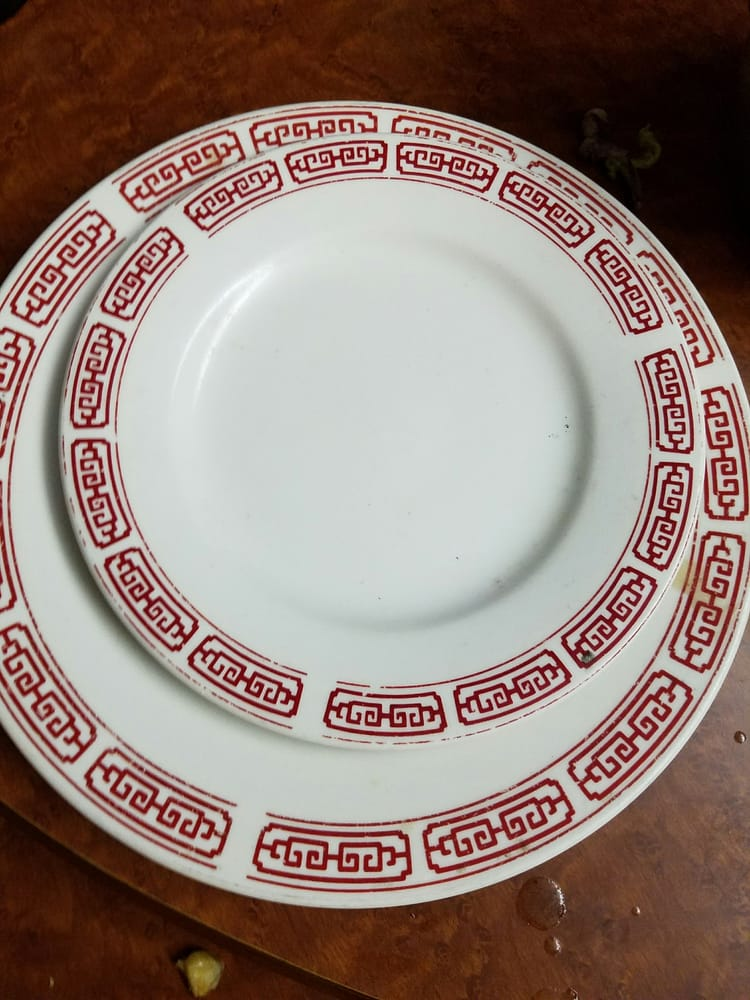 Photo of Shuang Cheng Restaurant - Minneapolis MN United States. Never try Chinese & Never try Chinese restaurants with such plastic plates! - Yelp