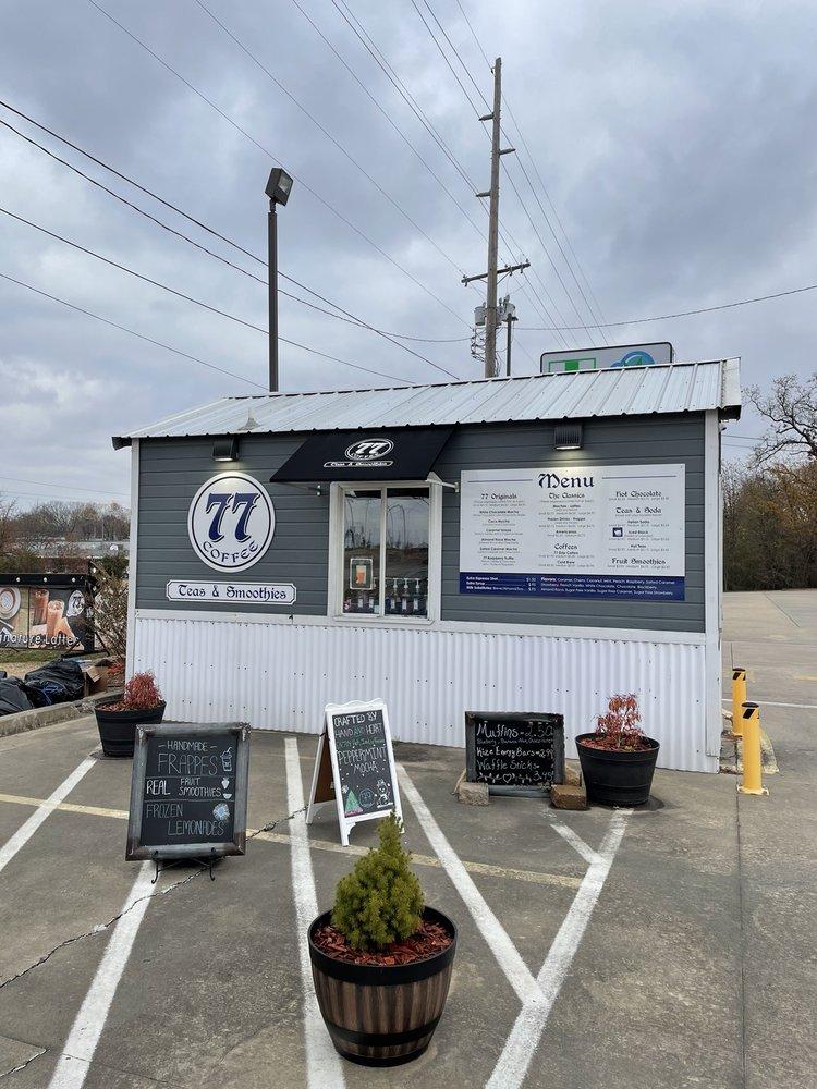 77 Coffee: 106 W Ray Fine Blvd, Roland, OK