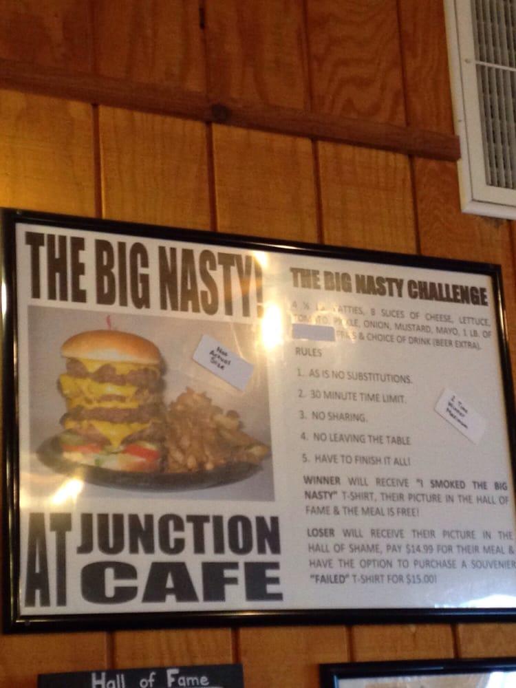 Junction Cafe : 1030 E Tulsa Ave, Kansas, OK