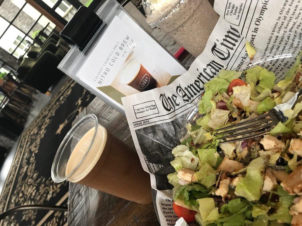 The Lobby Coffee Bar & Cafe: 6201 Solomons Island Rd, Huntingtown, MD