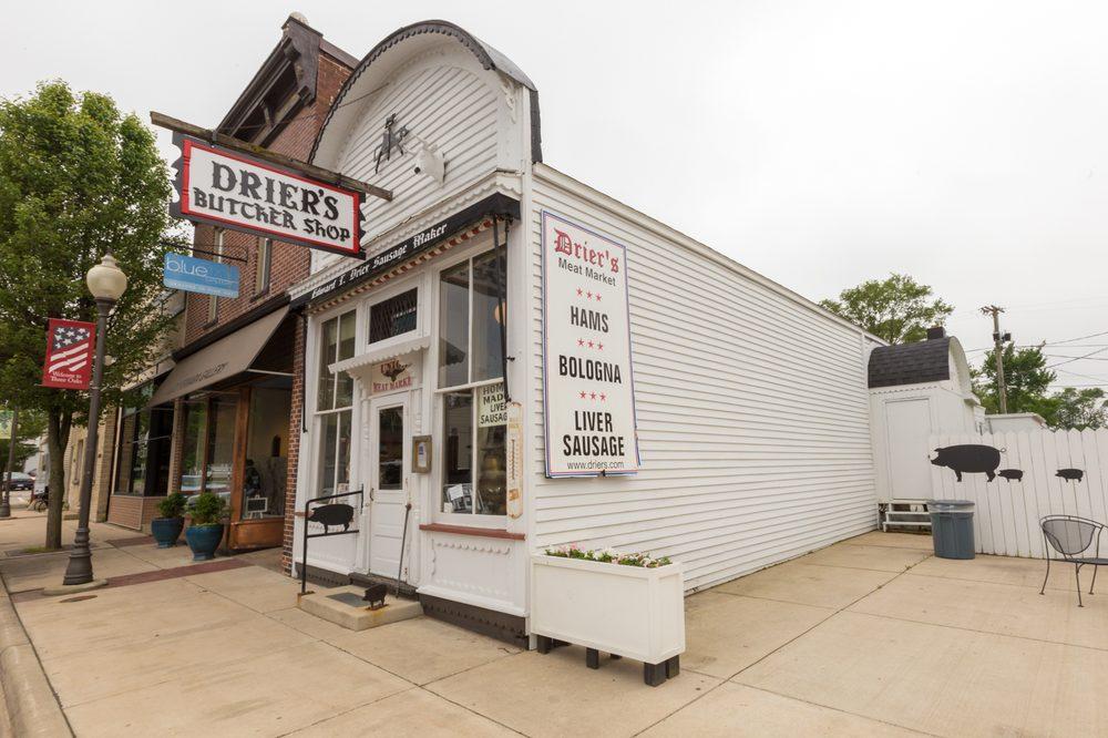 Drier's Meat Market: 14 S Elm St, Three Oaks, MI