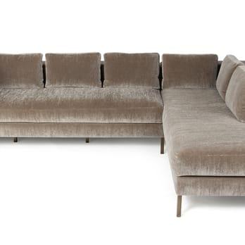 Remarkable Ella Sofa Sectional Mohair Blackened Steel Yelp Ibusinesslaw Wood Chair Design Ideas Ibusinesslaworg