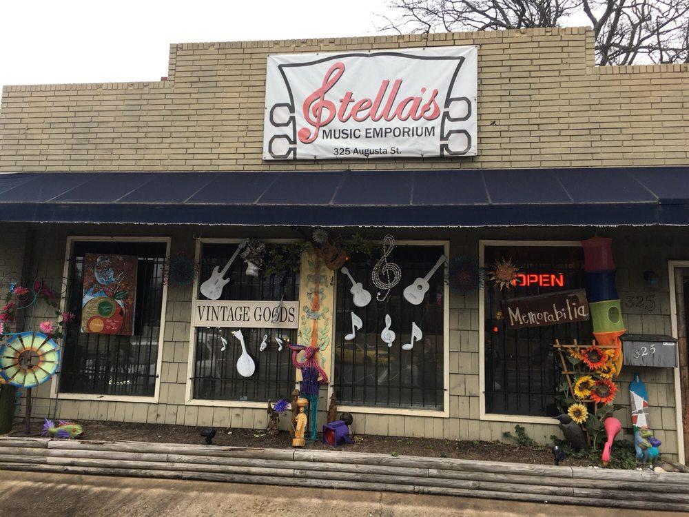 Stella's Music Emporium: 325 Augusta St, Greenville, SC