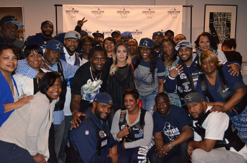 Meet greet with 90 demarcus lawrence yelp photo of north star dallas cowboys fan club newark nj united states m4hsunfo
