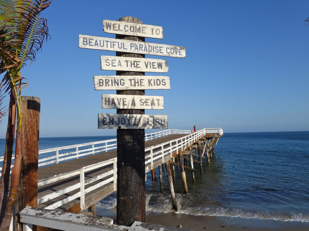 Photo Of Paradise Cove Beach Malibu Ca United States Pier