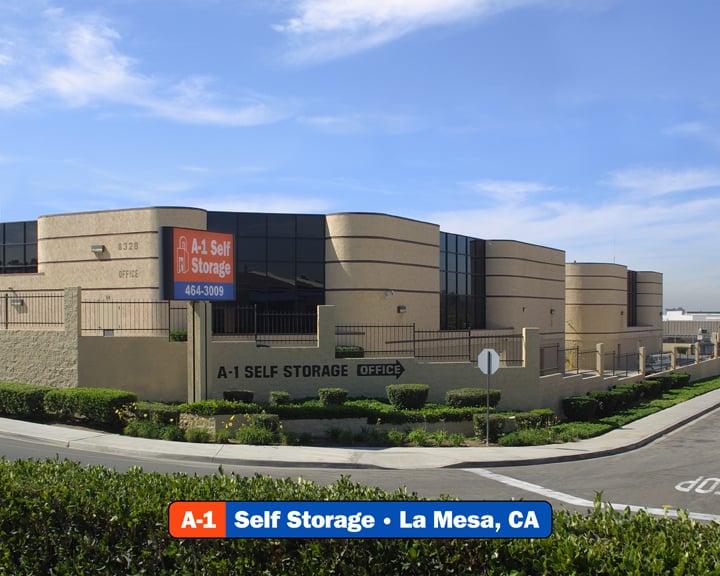 A-1 Self Storage: 8328 Center Dr, La Mesa, CA