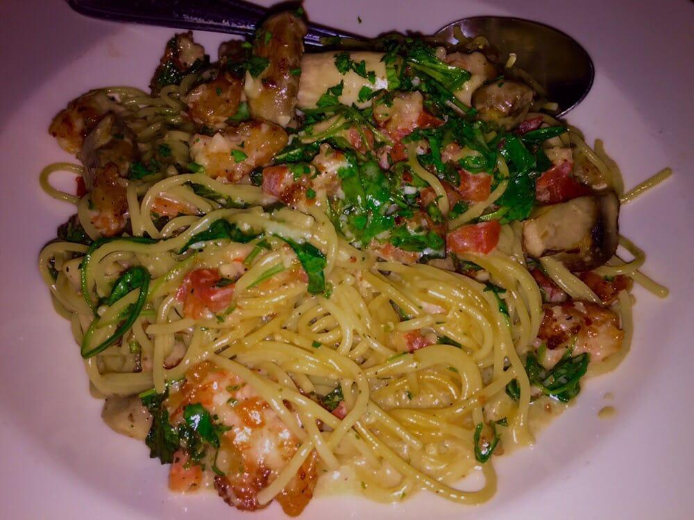 bistro shrimp pasta yelp