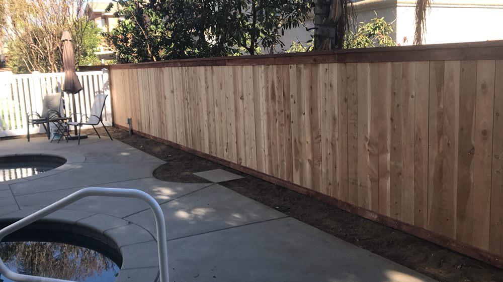 Cap And Trim Cedar Wood Fence Yelp