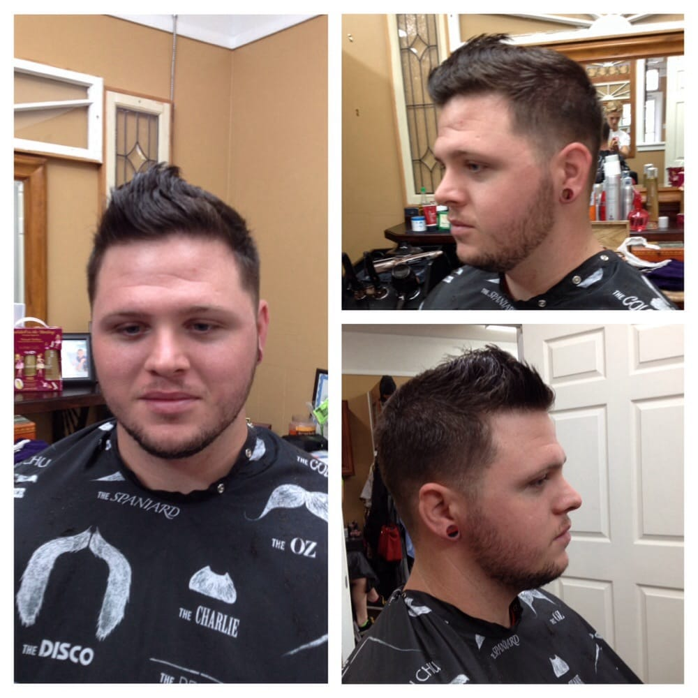 Mens Deluxe Haircut Special From Your Local Barber Shop In Fort