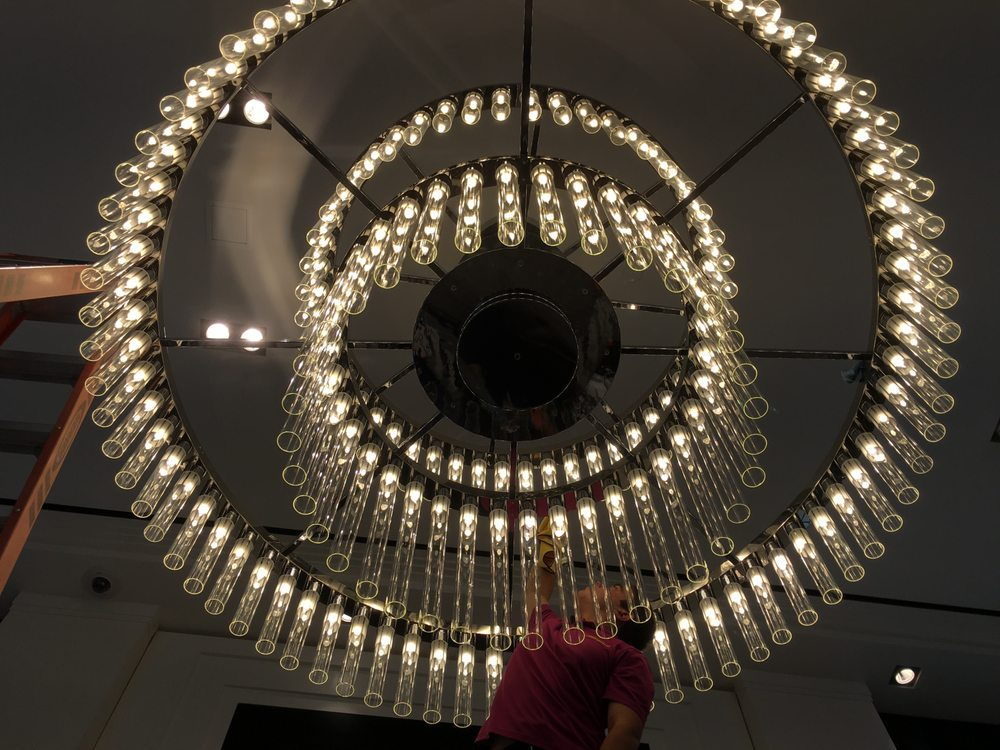 Witherspoon Chandelier Cleaning