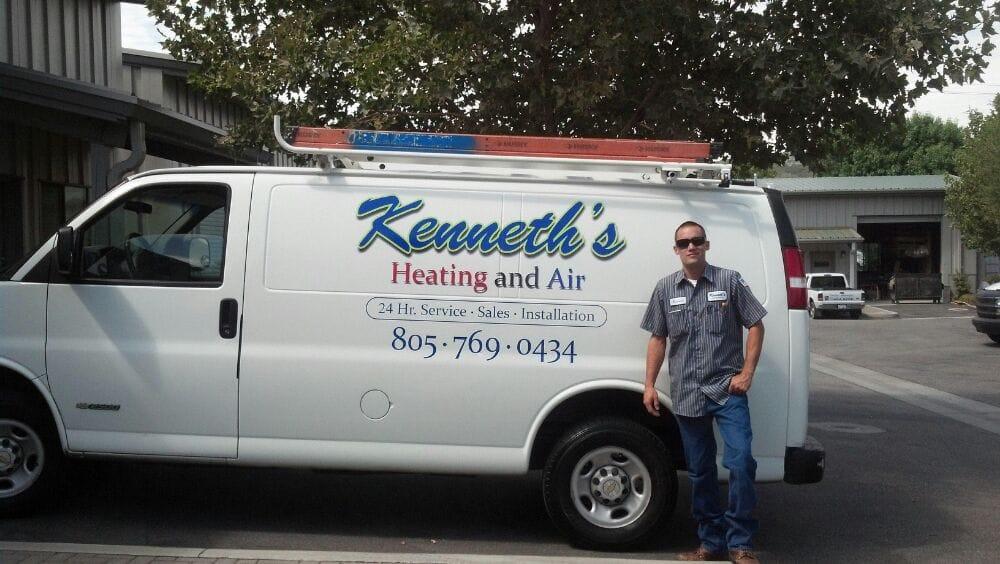 Kenneth's Heating and Air: 8787 Plata Ln, Atascadero, CA
