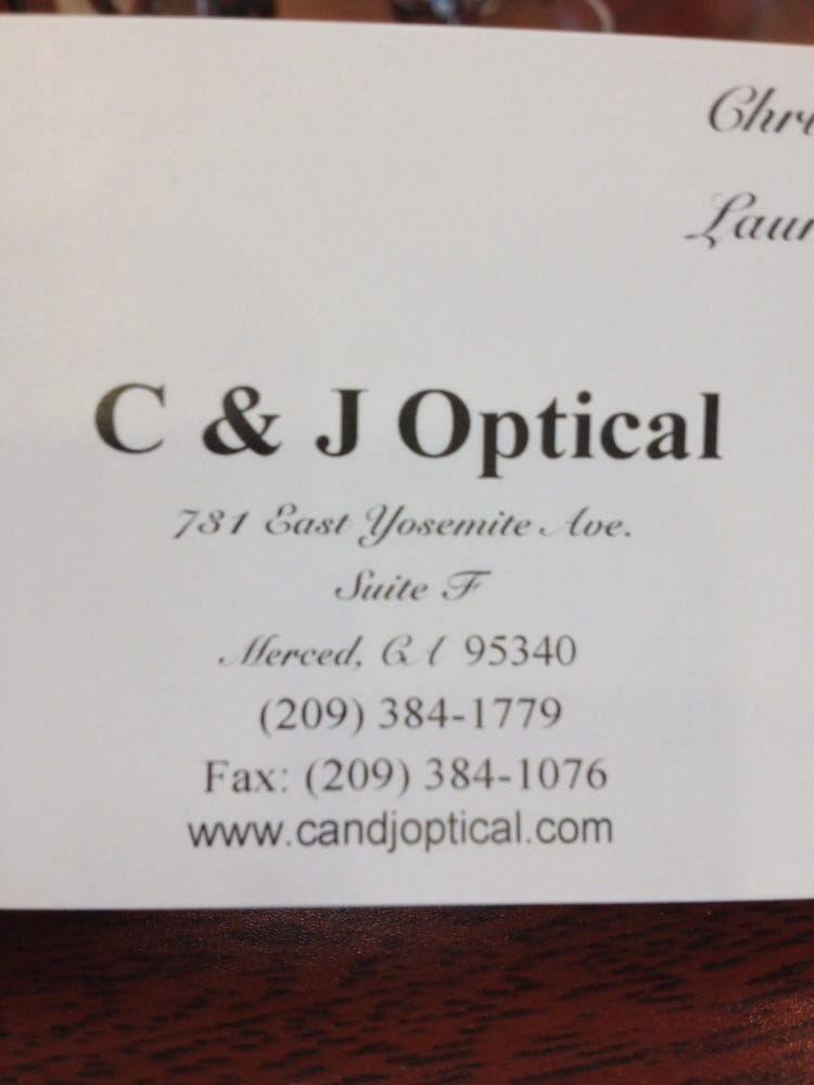 C & J Optical Fashions