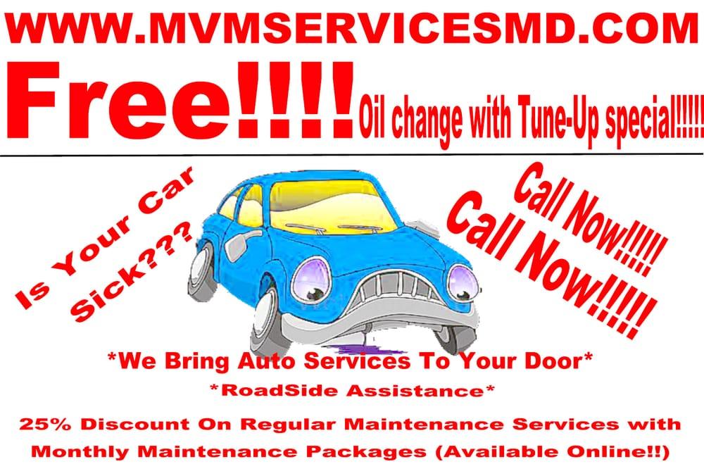 Mvm Services Motor Mechanics Repairers Baltimore Md