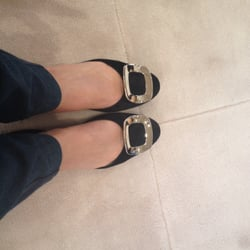 387d6f1dc3 Photo of Roger Vivier - New York, NY, United States. Fabulous suede pumps