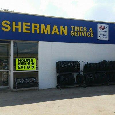 Sherman Tire Service Goodyear 112 N Crockett St Sherman Tx Tire