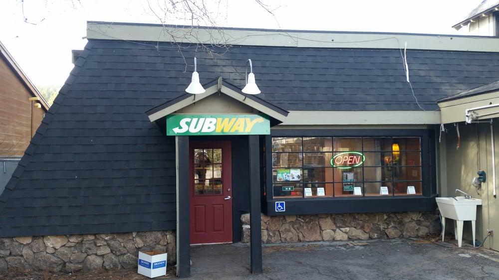 Subway 11 Reviews Sandwiches 850 N Lake Blvd Tahoe City CA United St